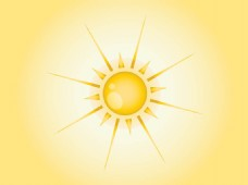 唯美太阳背景素材