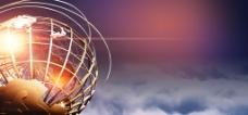 企业文化商业商务大气科技海报背景设计素材