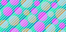 斜线彩色圆点背景图案