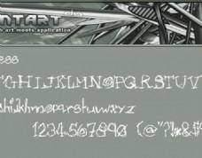 艺术字体 特殊字体素材下载