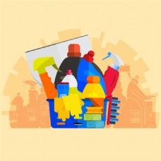 清洁卫生用品图片