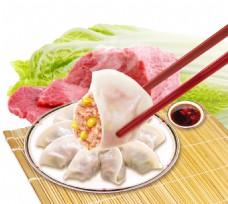 饺子食材素材