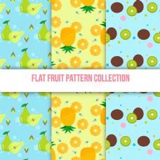 手绘各种水果装饰图案