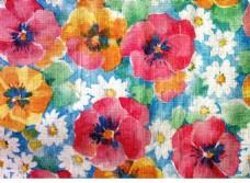 创意水彩花卉背景素材