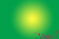 绿色光效背景图