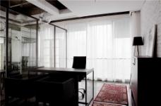 简洁办公室装修设计图片