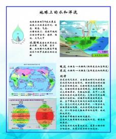 高中地理地理学科展板