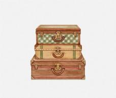 财宝宝箱设计元素