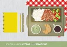 矢量手绘食物素材