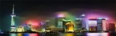 繁华城市背景图