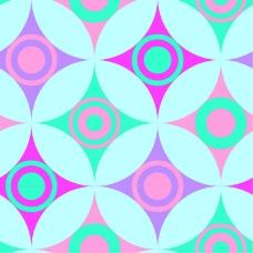 抽象形状圆环背景
