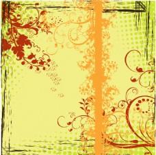 花纹复古背景素材