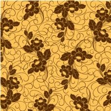 矢量花纹素材墙纸背景