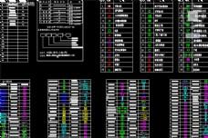 弱电CAD图例集锦