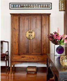 美式客厅椅图片