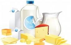 牛奶矢量素材