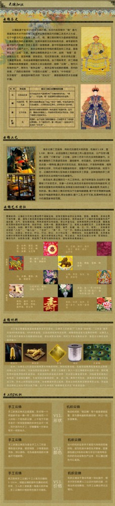 工艺品淘宝电商珠宝首饰详情页设计图