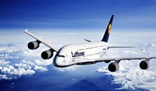 航空企业宣传片 3D飞机标志