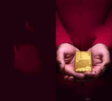 黄金投资画册设计PSD素材