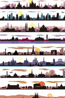 环球旅游城市剪影