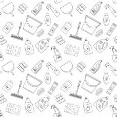 清洁用品背景图片1
