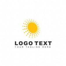 太阳能标志logo设计