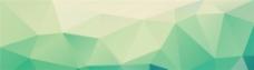 简约绿色几何背景图