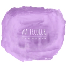 浅紫色水彩笔触背景
