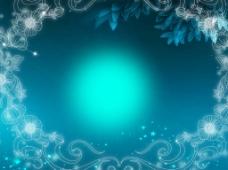 蓝色背景图素材