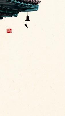 复古中国风唯美背景图