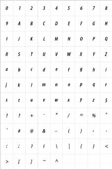 常用英文字体