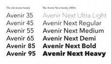 设计常用的英文字体下载
