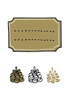 圣诞节卡通矢量素材图片