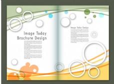 矢量杂志内页设计