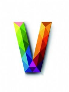 英文字母V