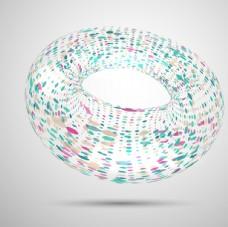 抽象三维球体