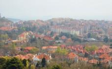 红房子风景