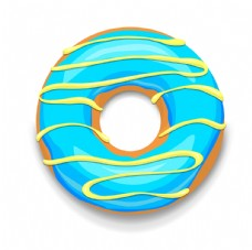 矢量甜甜圈
