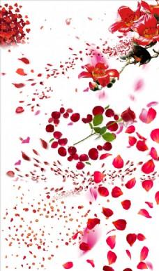花瓣 素材 玫瑰
