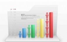 統計表格柱狀圖設計