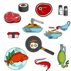 食物矢量素材