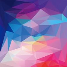 绚丽多彩菱形几何菱形矢量素材