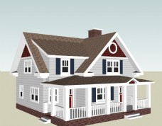 su别墅模型