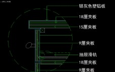 室内图块 工装构件元素