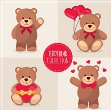 可爱的玩具熊