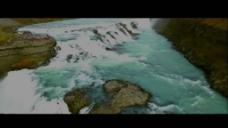 美丽的星球地貌河流冰山火山坑视频素材2