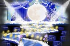 海上生明月主题婚礼