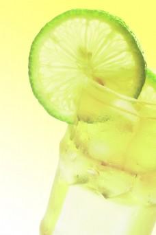 柠檬清新背景