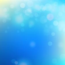 蓝色抽象光效背景