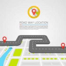 汽车导航背景图